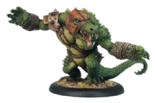 Minion Gatorman Heavy Warbeast Blackhide Wrastler